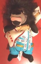 a Disney Country Critters Liverlips Mini Bean Bag Beanie w/tags Guitar Musician