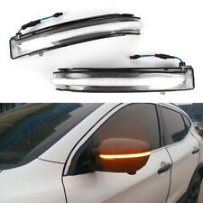 LED Side Mirror Sequential Turn Signal Light For Nissan X-Trail Qashqai Murano