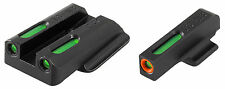 TruGlo TFX Pro Handgun Sights - Ruger LC9/9s/380 -TG13RS2PC - Orange/Green