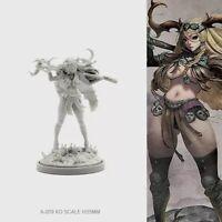 Pinup Screaming God Armor Model for Kingdom Death Game Resin Figure 30 mm