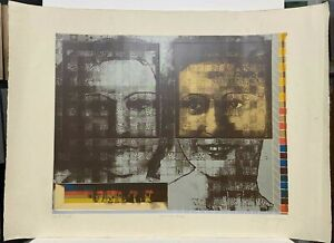 Carlos Irizarry, Cajigas, Julia De Burgos, Puerto Rico Art Historic 29.5 x 41.5
