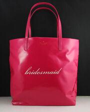 NWT Kate Spade Bon Shopper Wedding Belles Hot Pink Shoulder Bag Tote WKRU2997