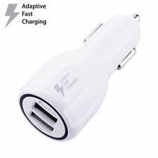 Dual USB Car Charger 3.1A Fast Charging Adapter For iPhone X Samsung S9+ LG HTC