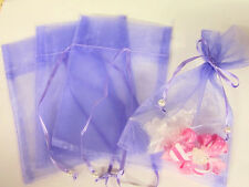 "100 Pearl Bead Organza Gift Bags 4x6"" Wedding Favors Pouch/Party/7 Colors PO-2"