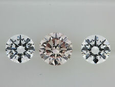 Natural (Finished) Round VS1 Clarity Loose Diamonds