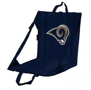 Logo Brand Football Stadium Seat Cushion NFL LA Rams Thick Padding! NEW