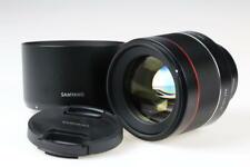 SAMYANG 85mm f/1,4 für Sony FE - SNr: 16309