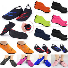 Water Shoes Slip on Aqua Socks Yoga Mens Womens Exercise Pool Swim Surf Beach AU