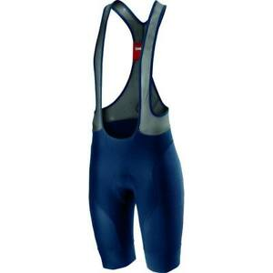 NEW 2020 Castelli Free Aero Race 4 Bib Shorts, Dark Infinity Blue, Large