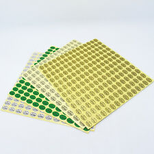 """""""QC Passed"""" Round Ellipse Permanent Self-Adhesive Sticker Quality Control Labels"""