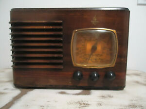 radio TSF Emerson  art déco  1942 avec certificat