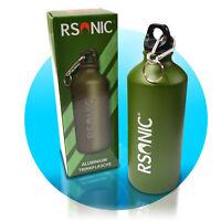 RSonic Aluminium Trinkflasche Campingflasche 600 ml Outdoorflasche