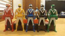 Liveman Ranger Key Set Mighty Morphin Power Rangers Gokaiger