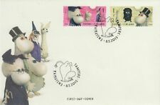 Moomin Stamps Picture Moomin Old Toys from 1950s Tove Jansson Finland FDC 2015.
