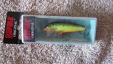 "Rapala Original Floating Fishing Lure -  F-5 - Hot Steel - 2"" - 1/16 oz.  (CA 4)"