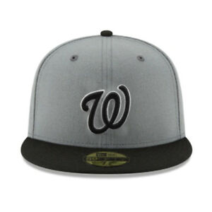 Washington Nationals WAS MLB Authentic New Era 59FIFTY Fitted Cap - 5950 Hat