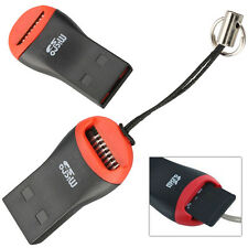 USB 2.0 Mini Micro SD T-Flash SDHC MS Memory Stick Micro Card Reader for PC Mac