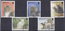 Jersey 1994 Cats (1st Series) Set Fine CTO Used SG650-4 Cat £3.75