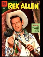 REX ALLEN #18 DELL WESTERN COMIC BOOK  VF/NM (1955)