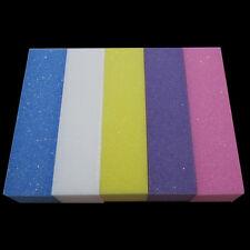50 PCS Colorful Nail Art Care Buffer Sanding Block Shiner, Files Acrylic Tool