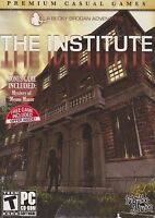 The Institute +Mystery Of Meane Manor PC Games Windows 10 8 7 XP hidden object