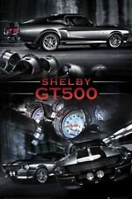 FORD SHELBY MUSTANG GT500 grande Muscolo Auto Poster Nuovo