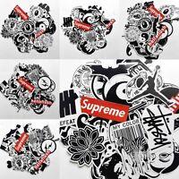 45 Pcs Skateboard Vinyl Sticker Skate Graffiti Laptop Luggage Car Bomb Decal Lot