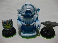 SKYLANDERS SPYRO'S EMPIRE OF ICE ANVIL,ICE CAVE,SKY IRON SHIELD.SET.POSTAGE DEAL
