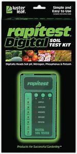 RAPITEST DIGITAL 1605 SOIL TEST KIT LAWN FLOWER PLANT TEST GARDEN TESTER pH NPK
