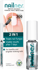 Nailner Brush 2 in1 Repair 300 Applications Toe Fungal Nail Treatment 5ml