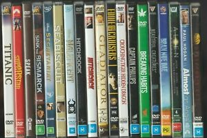 Movies DVD CHOOSE YOURS - Drama Horror Fantasy + Free Postage on 5 +