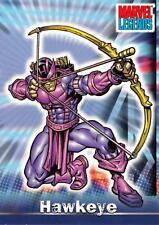 HAWKEYE / Marvel Legends (Topps 2001) BASE Trading Card #17
