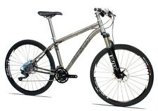 New Luxon Titanium MTB complete mountain bicycle with shimano xt 30 speed, 18""