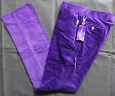 Ralph Lauren Purple Label Corduroy Harrison PANT TAGLIA 32 MADE IN ITALY