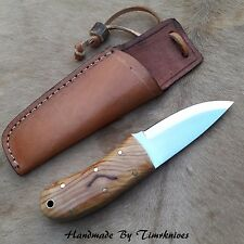 "6"" CUSTOM MADE 1095 STEEL SCANDI GRIND