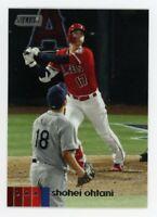 2020 Topps Stadium Club #145 SHOHEI OHTANI Anaheim Angels PHOTO BASEBALL CARD