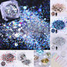 Holo Flakes Nail Art Powder Dust Colorful Sequins Shinning  Decorations
