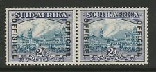 South Africa 1935-49 George VI 2d Official Blue and violet SG O23  Mint.