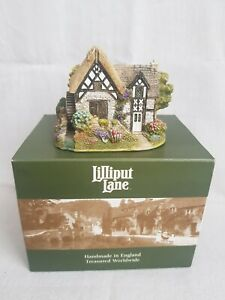 Lilliput Lane Rossett Water Mill Boxed With Deeds