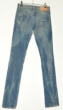 Diesel LIVY-BIKER super slim straight womens stretch jeans W 26 L 32