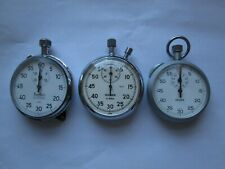 3 ASSORTED STOPWATCHES