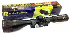 Nikko Stirling Mountmaster 3-9x50 AO IR Air Rifle Rimfire Scope Sight