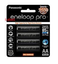 Panasonic Eneloop Pro 2550mAh AA Precharge NiMH Rechargeable Battery Sanyo Japan