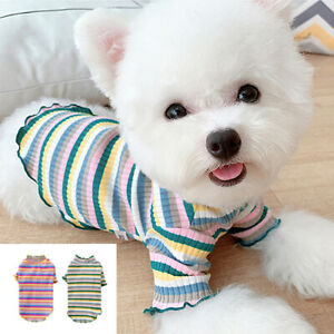 Winter Dog Jumper Soft Pet Cat Puppy Sweater Knit Coat Shirt Chihuahua Knitwear