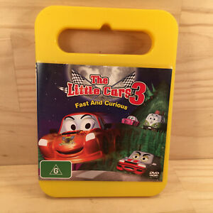 The Little Cars 3 FAST & CURIOUS Awesome Kid's DVD Series Episodes (R4) 2011 ABC
