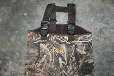 CABELAS Camo  Chest WADERS 600 Thinsulate Ultra Boots Size 7r