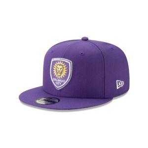 Orlando City Lions SC New Era 9FIFTY MLS Adjustable Snapback Hat Cap Flat 950