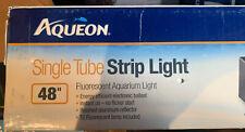 Aqueon Strip Lights Black 48 Inch Deluxe Fluorescent 75e 90. **Free Shipping**