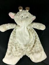 Baby Ganz Jamie Giraffe Flat-A-Pat Security Lovey Plush Stuffed BG3802 EUC GRAY