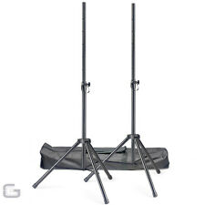 STAGG SPSQ10 HIGH QUALITY SPEAKER TRIPOD STANDS KIT WITH BAG STAND DJ DISCO PA